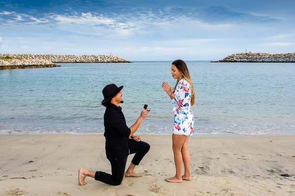 cabo wedding proposal photography